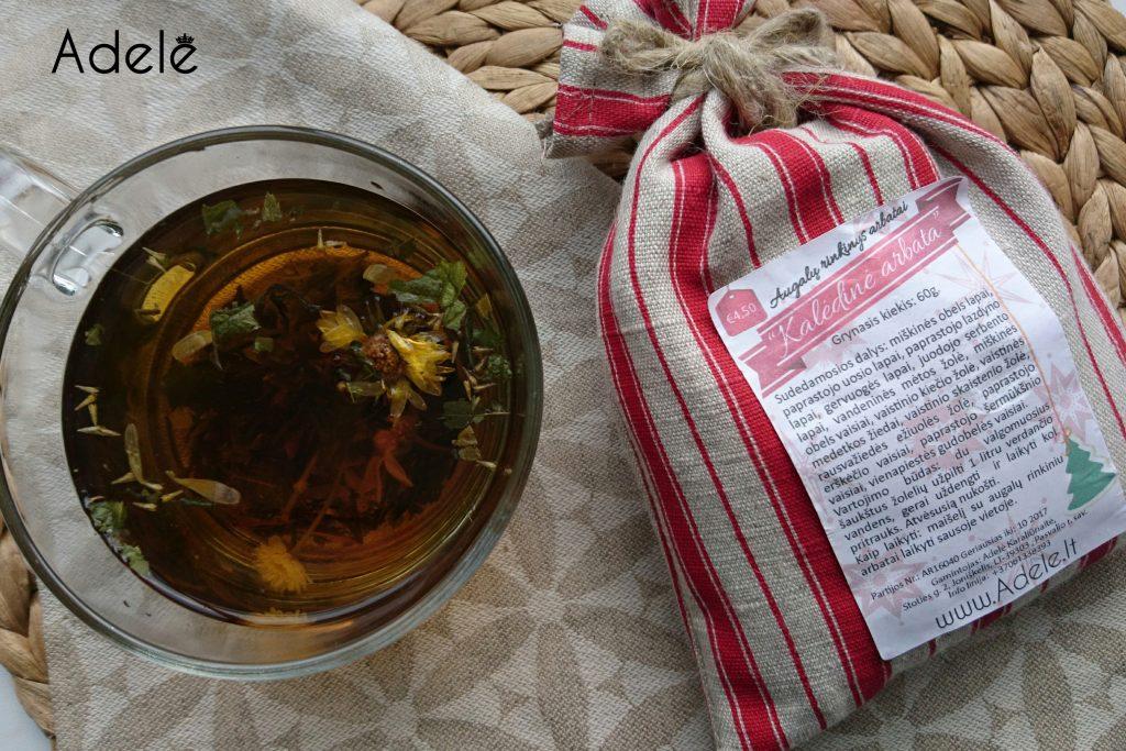 kaledine-arbata-ir-puodelis